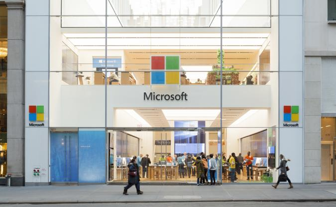 The Microsoft Store New York City
