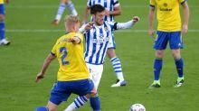 Real Sociedad's David Silva sidelined by hamstring strain