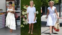 White Dress Style We Want to Steal From Julianne Hough, Halle Berry, and More!