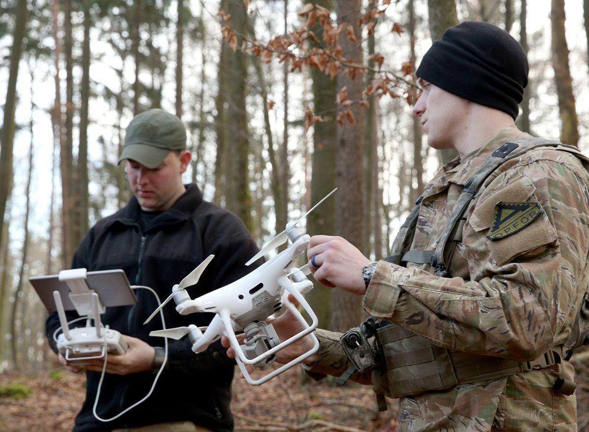 DoD hands out $84 million in recovery funds for small drone makers and a space firm