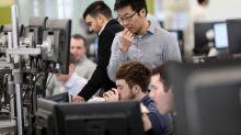 FTSE 100 slides on weak factory data, bank dividend halt