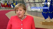 """EU-Gipfel: Merkel erwartet """"sehr schwere Verhandlungen"""""""