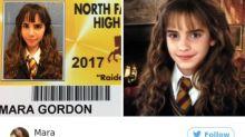 Se disfrazaron para la credencial de la escuela... y sus fotos son furor en Internet