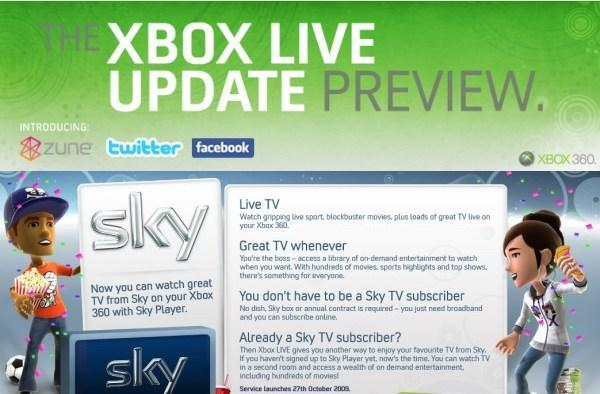 Xbox Live update preview program now rolling out