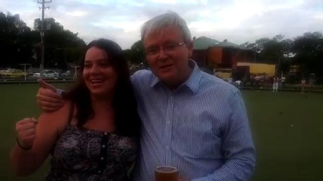 Kevin Rudd does Call Me Maybe