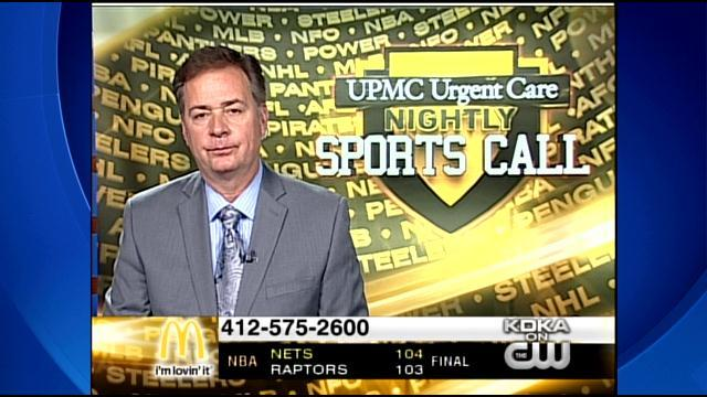 UPMC Urgent Care Nightly Sports Call: May 4, 2014 (Pt. 3)