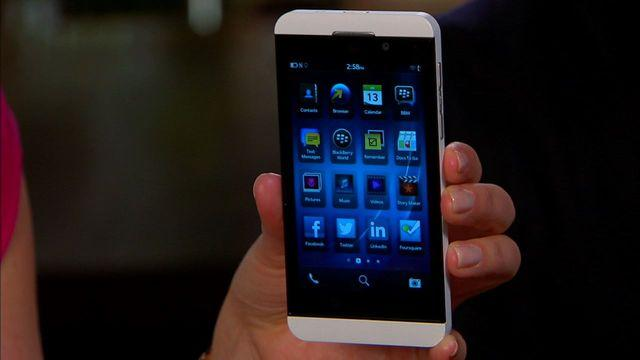 Unboxing the BlackBerry Z10