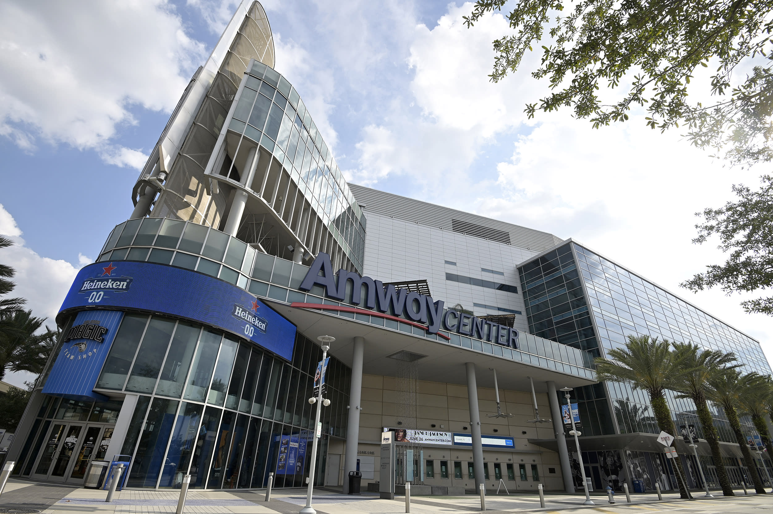 Orlando Magic to open arena to voters, as NBA election push grows