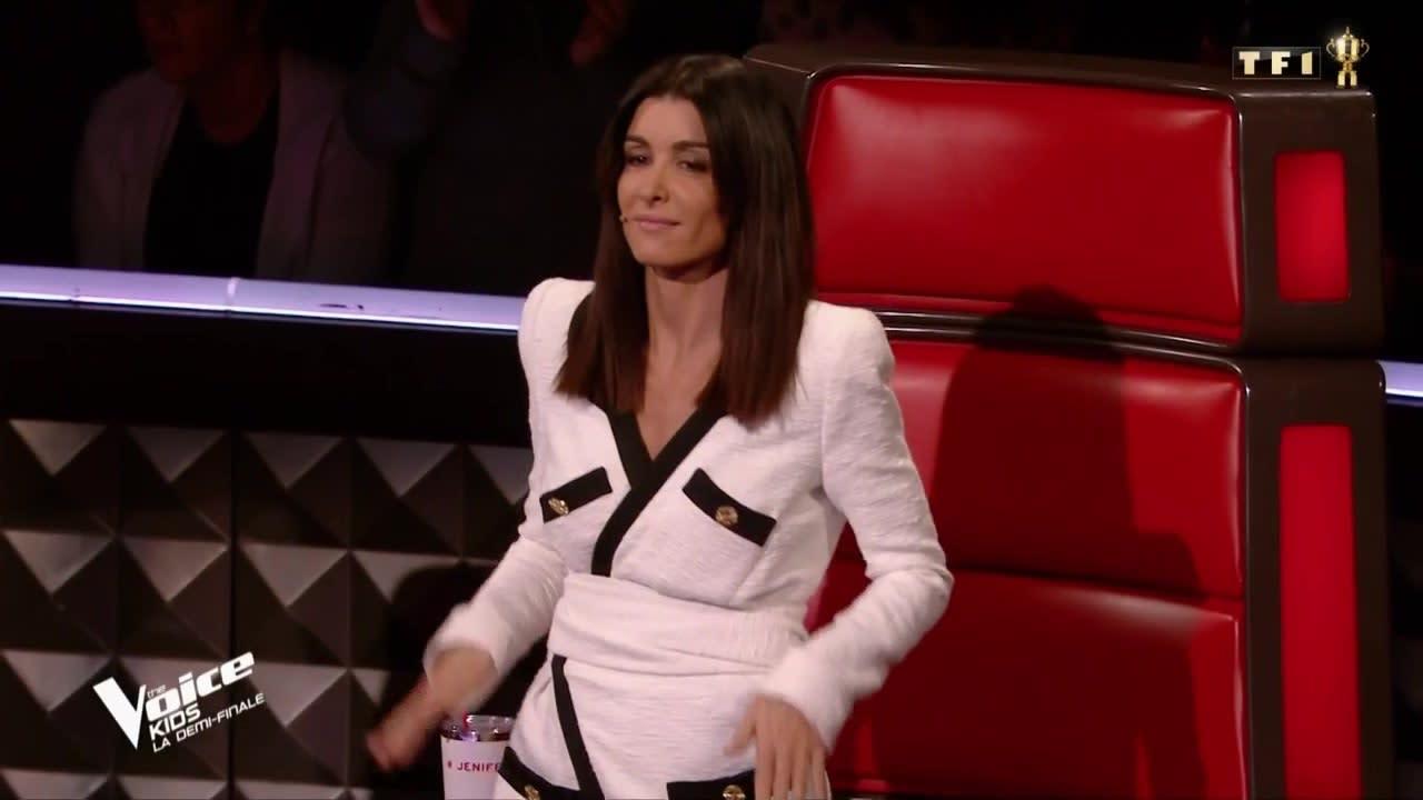 Le Prix De La Robe De Jenifer Pour La Demi Finale De The Voice Kids