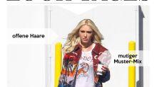 Look des Tages: Gwen Stefani im Muster-Mix