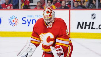 Flames' goaltending situation a massive question mark