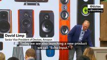 Amazon Reveals New Echo Input