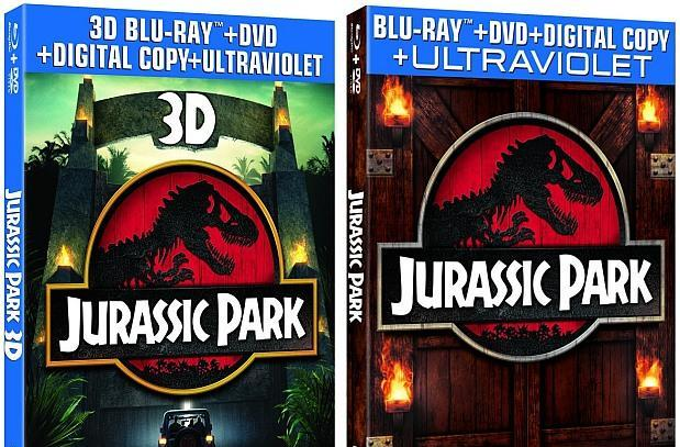 Jurassic Park 3D Blu-ray comes home April 23rd after its one-week theatrical return
