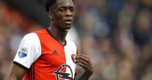Foot - HOL - Feyenoord - Terence Kongolo prolongé au Feyenoord Rotterdam jusqu'en 2019