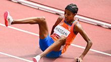 Dutch Olympian falls during race but miraculously comes back to win