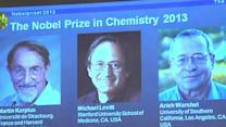 Raw: 3 at US Schools Win Chemistry Nobel