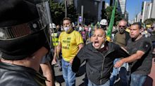 PM diz que neonazistas foram estopim para confronto durante ato pela democracia