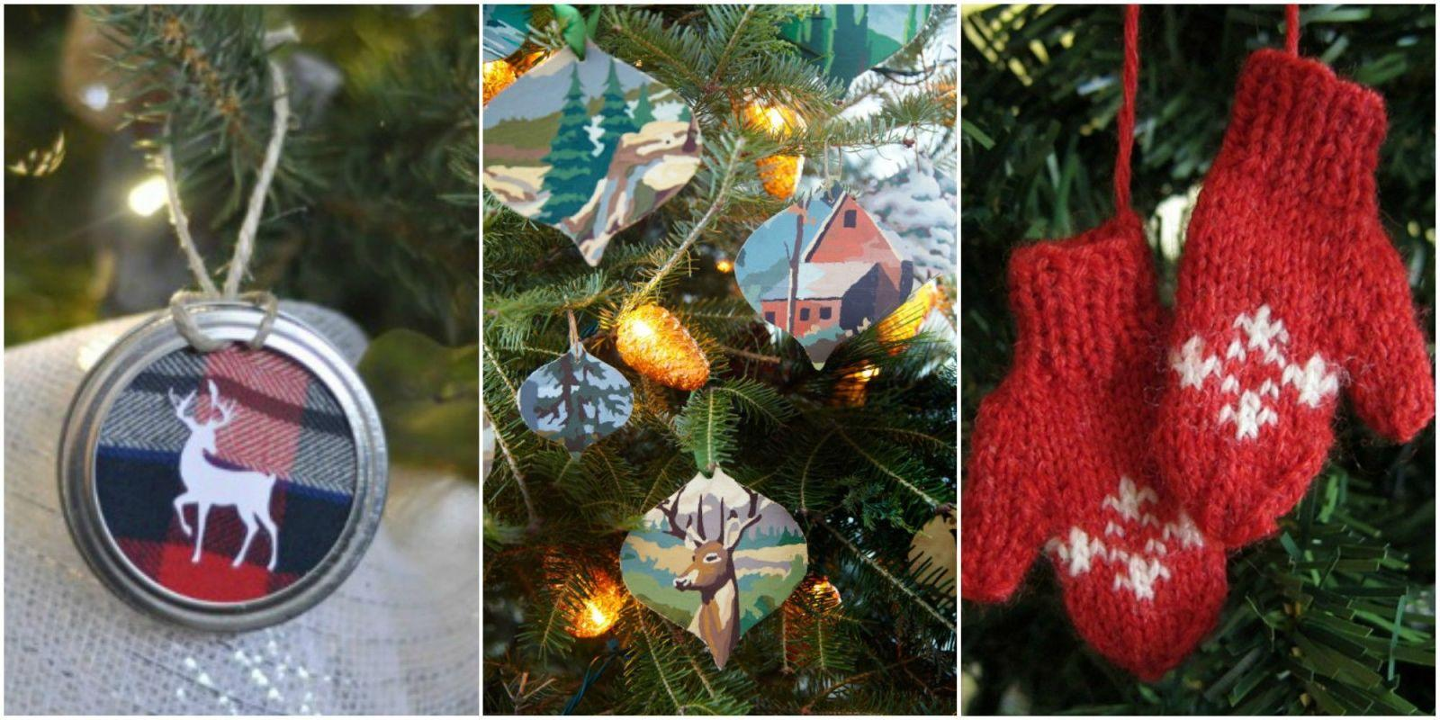 55 Easy Homemade Christmas Ornaments To Diy