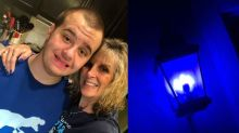 Woman gets $150 fine for lighting her house blue to support World Autism Awareness Month