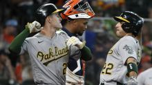 Laureano's 2-run shot sends A's to 7-3 win over Astros