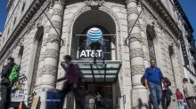 AT&T Declines After Slump Puts More Pressure on Time Warner Deal