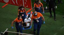 Foot - L1 - Rennes - Rennes: expulsé, Sacha Boey sort sur civière