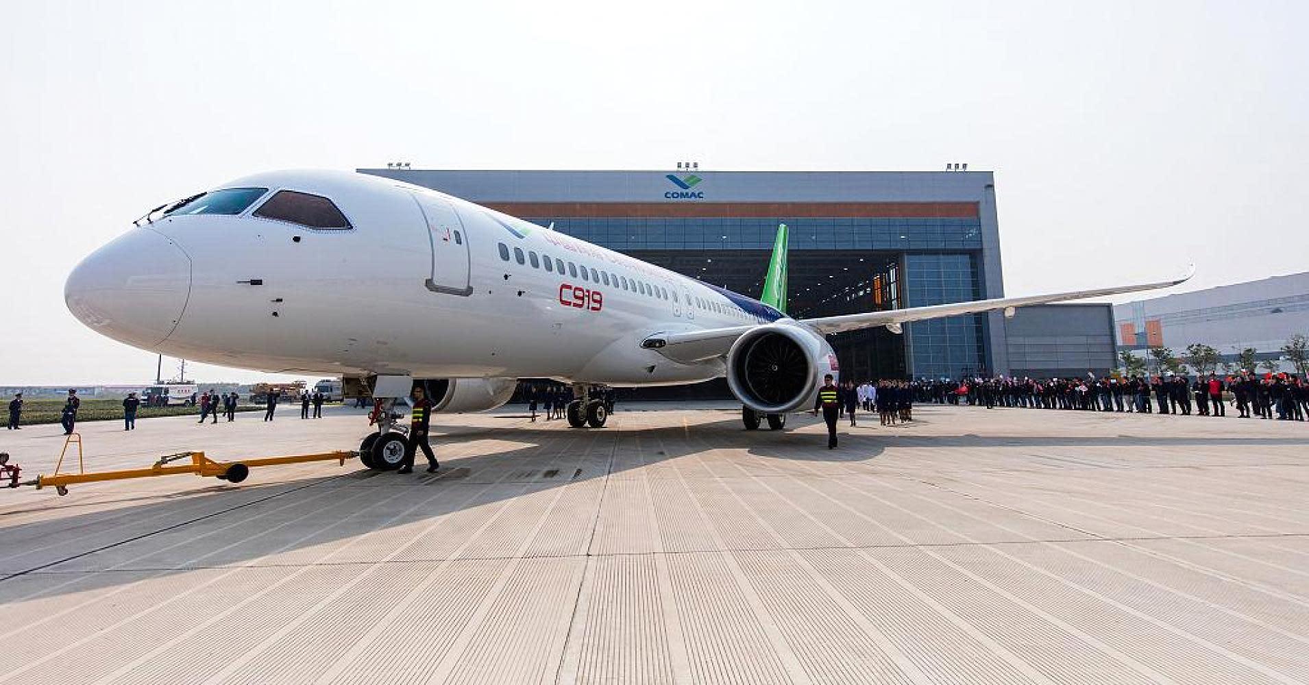 homegrown large passenger plane - 1024×683