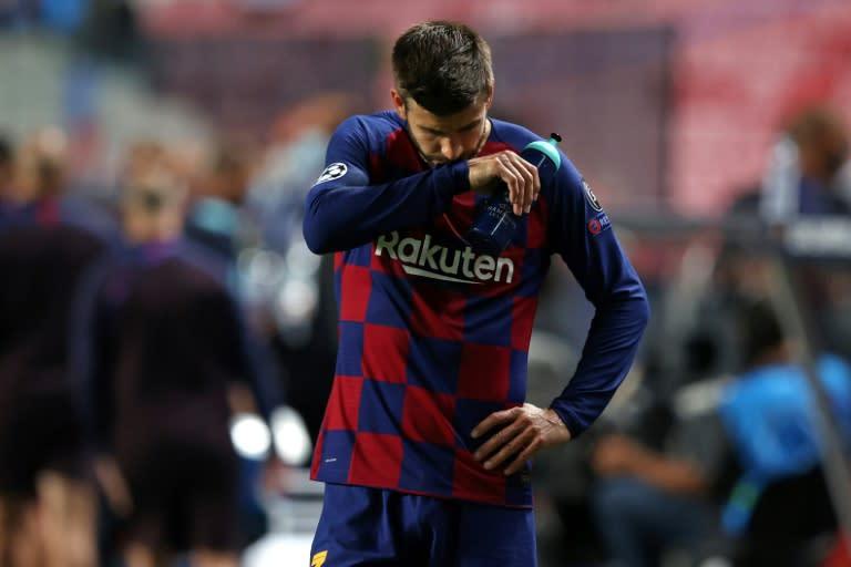 Barcelona star Pique: 'We have hit rock bottom'