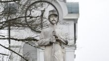 Debate churns over rebel statue after board votes to keep it