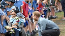Schoolboy becomes viral 'superstar' after meeting Harry and Meghan