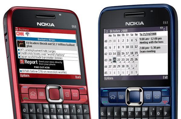 Nokia E63 finally up for grabs in the US, yours for $279