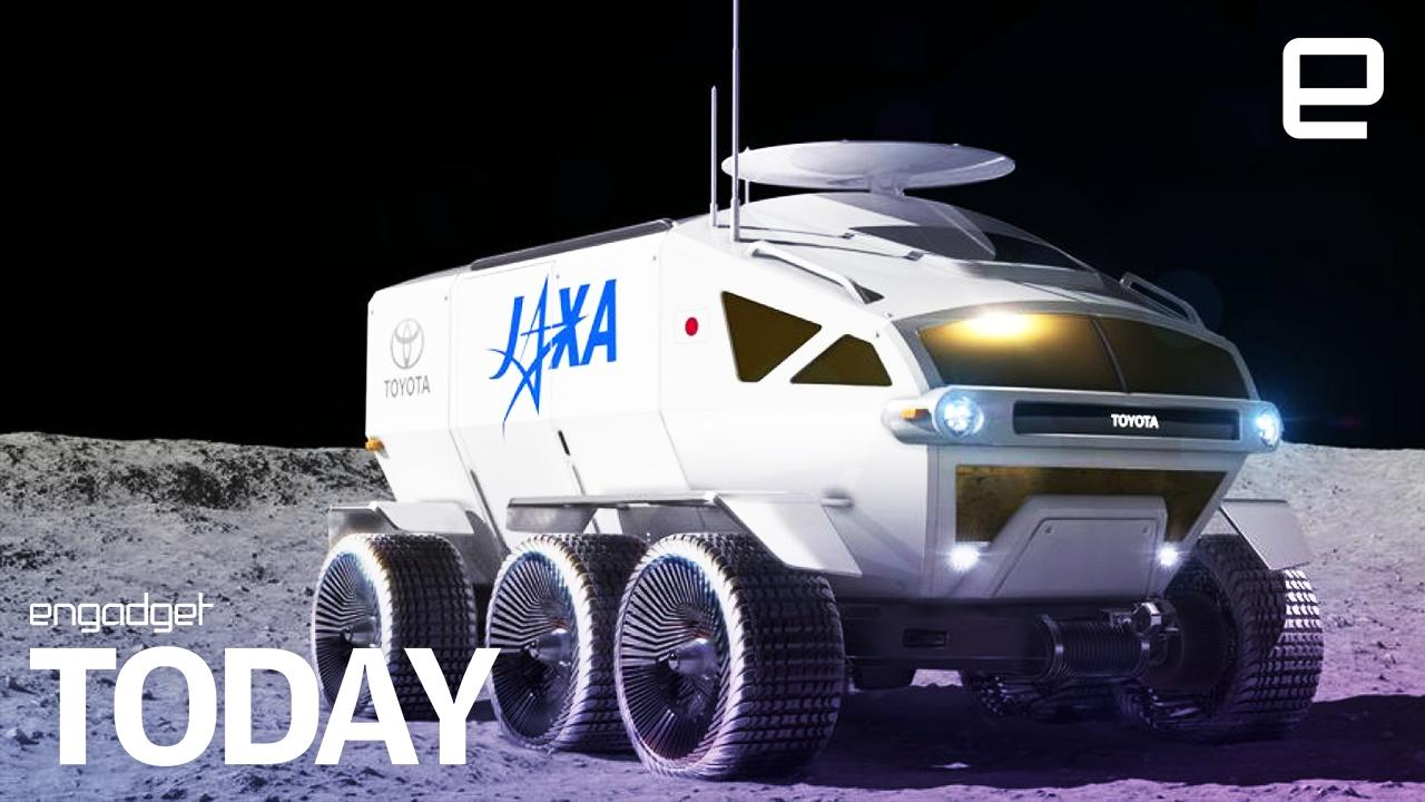 Japan's moon rover will be made by Toyota | Engadget