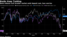 Banks Keep Sliding as Results Won't Change 'Negative Narrative'