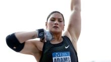 Adams fires up for Tokyo with 19.65m throw in Auckland