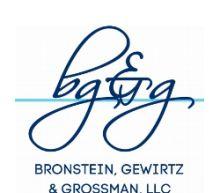 AGS SHAREHOLDER ALERT: Bronstein, Gewirtz & Grossman, LLC Notifies PlayAGS, Inc. Investors of Class Action and Lead Plaintiff Deadline: August 24, 2020