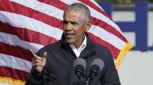 'They're like Batman and Robin gone bad': Obama targets Georgia senators in final pitch for Democrats