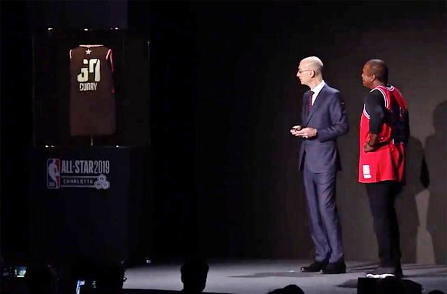 NBA smart jersey switches your player allegiances on the fly