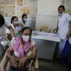 The Latest: Drug maker says vaccine in India 81% effective