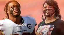 Washington & NFL Players Celebrate Mother's Day