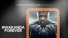 Santos lamenta morte de Chadwick Boseman, e relembra homenagem em 2019: 'Wakanda Forever'