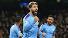 Aguero and de Bruyne give Man City contentious win over Sheffield United
