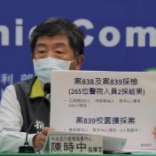醫院群聚感染增至2醫3護,一個共事1小時、一個僅接觸10分鐘即感染