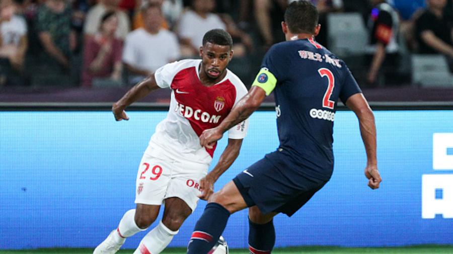 Maillot THIRD AS Monaco Samuel GRANDSIR