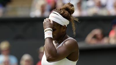 Serena Williams Out at Wimbledon