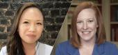 Yaho News Special Projects Editor Julia Munslow speaks with White House press secretary Jen Psaki. (Yahoo News)