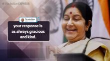 'Boss Lady', say netizens after Sushma Swaraj gives befitting response to a troll