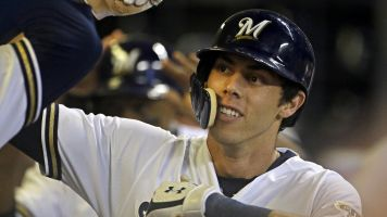 Yelich hits for second cycle in less than month