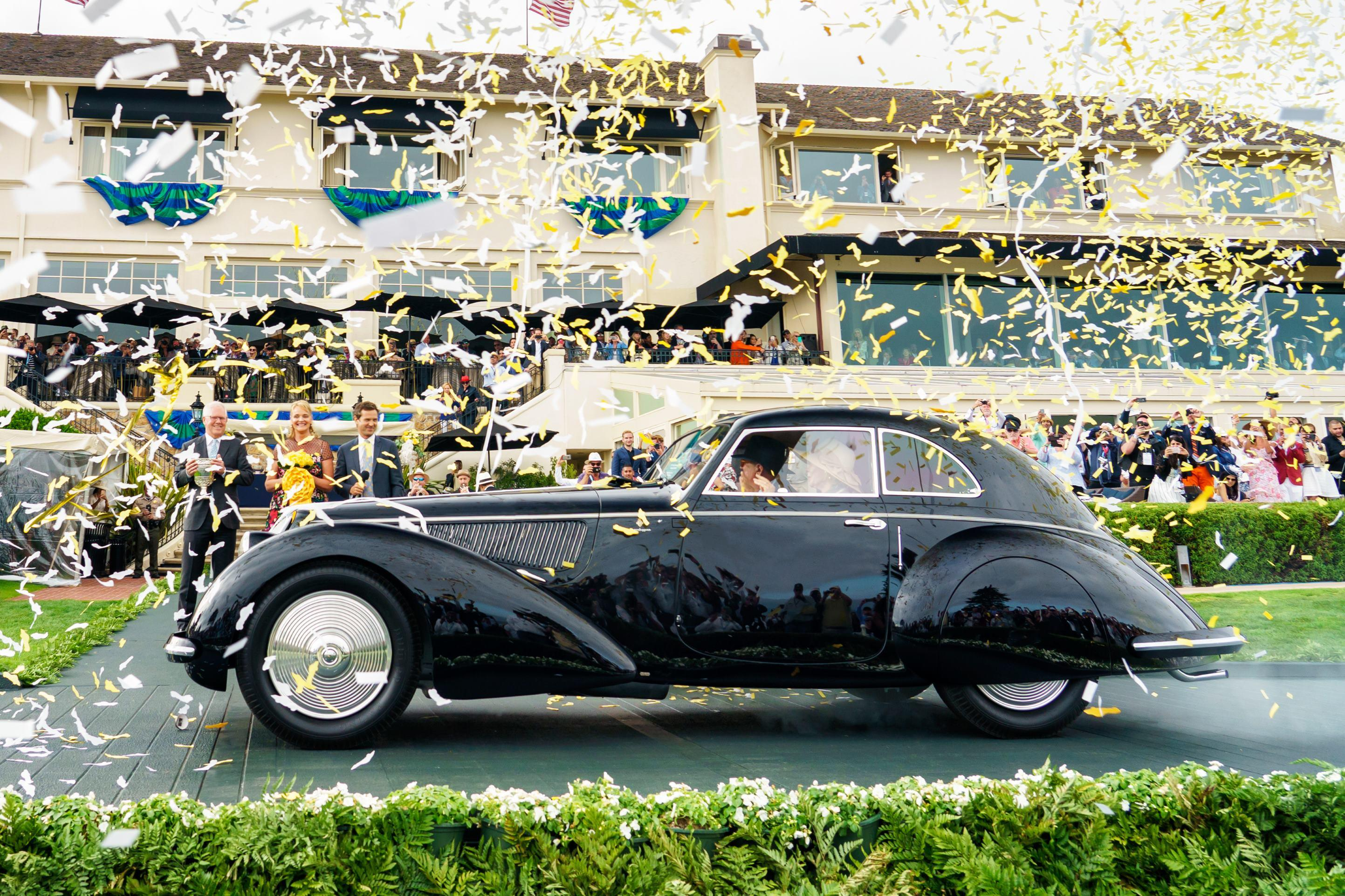 Concours D Elegance >> A 1937 Alfa Romeo Wins Best Of Show At Pebble Beach Concours D Elegance
