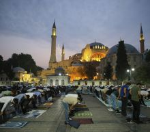 The Latest: Turkey's daily coronavirus cases top 9,500