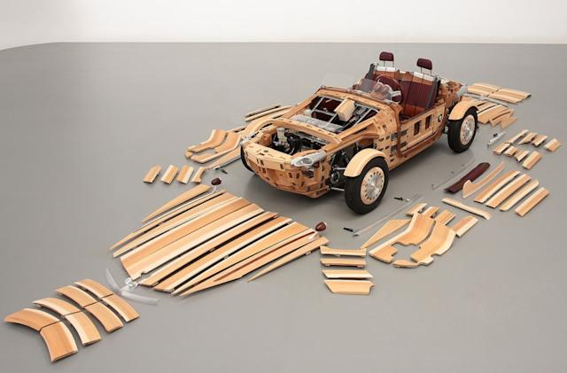 Inhabitat's Week in Green: Toyota's wooden roadster and more!